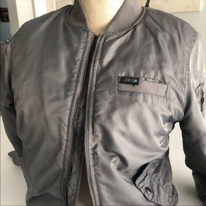 Joe's Gray Nylon Jacket size 14/16